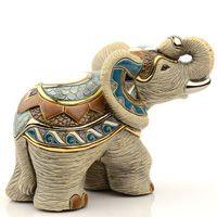 Фигурка De Rosa Rinconada Слон Индийский Серый, фото