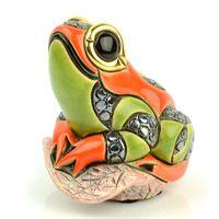 Фигурка De Rosa Rinconada Лягушонок на листе, фото