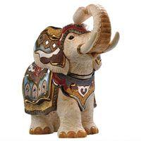 Фигурка De Rosa Rinconada Слон индийский белый, фото