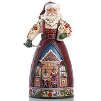Санта с игрушками Enesco, фото