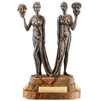 Скульптура Vizuri Талия и Мельпомена, фото