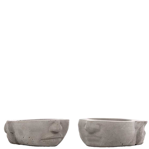 Декоративная ваза-органайзер Vase Head Адам и Ева, фото