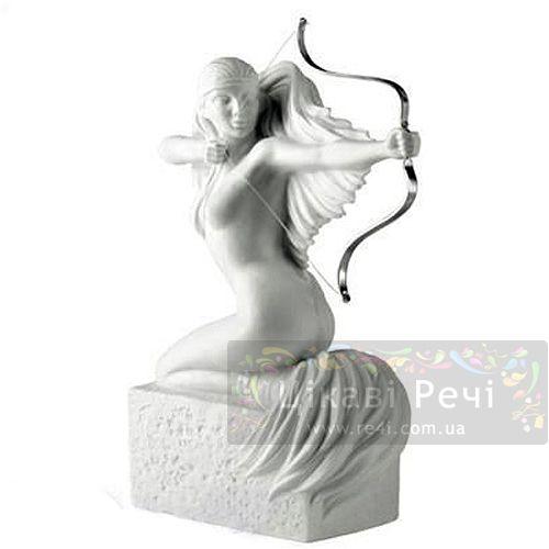 Женская фигурка Royal Copenhagen Christel Zodiac Стрелец фарфоровая белая, фото