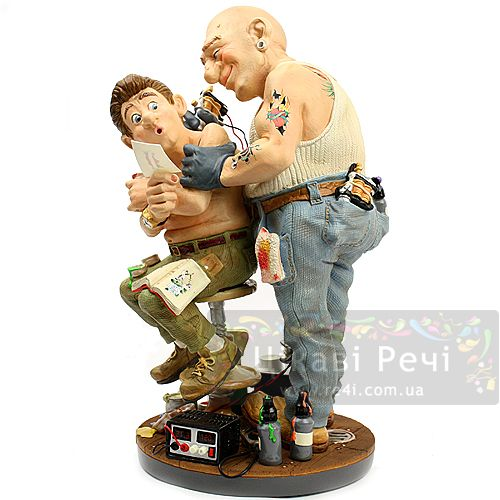 Скульптура Parastone Татуировщик, фото