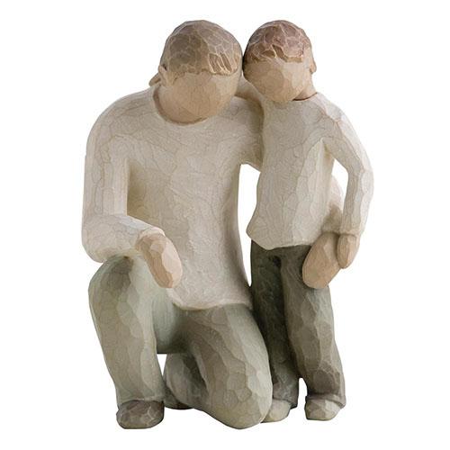 Парная фигурка Enesco Отец и сын, фото