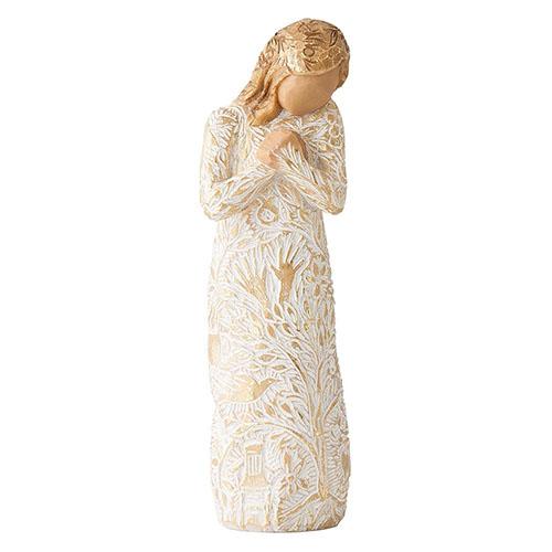 Ангел с золотистыми рисунками Enesco Tapestry, фото