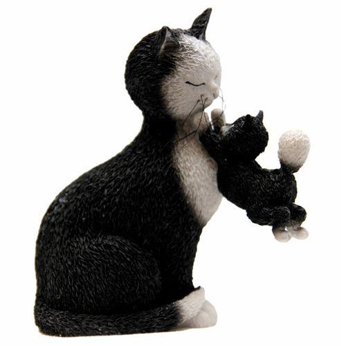 Котенок с любимой мамой Parastone, фото