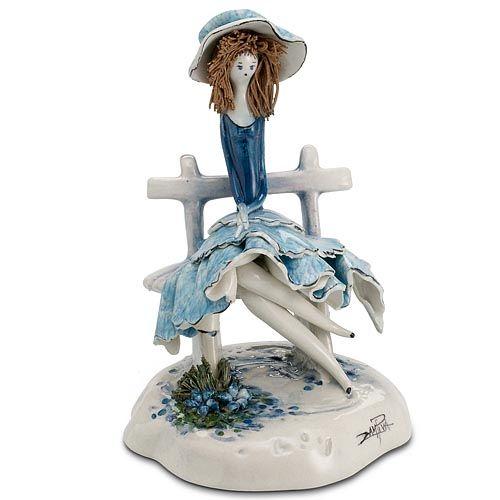 Статуэтка Zampiva «Девушка в голубом», фото
