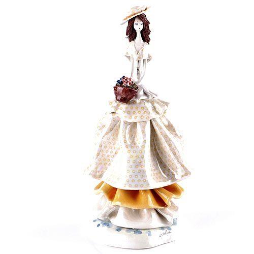 Статуэтка Zampiva «Девушка с цветами», фото