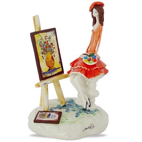 Статуэтка Zampiva «Художница», фото