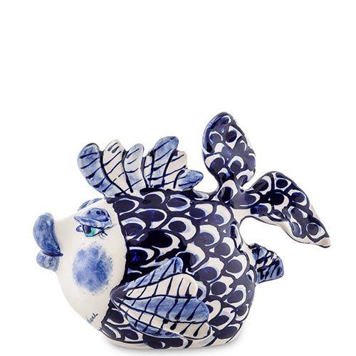 Керамическая фигурка Pavone Blue Sky Рыба миниатюрная, фото