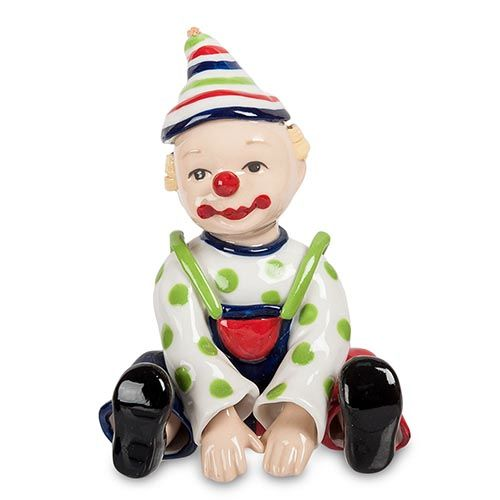 Фигурка из твердого фарфора Pavone CMS Клоун малыш, фото