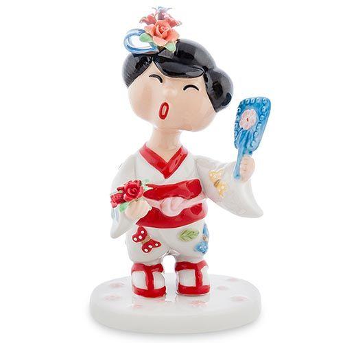 Фарфоровая статуэтка Pavone CMS Леди Япония, фото