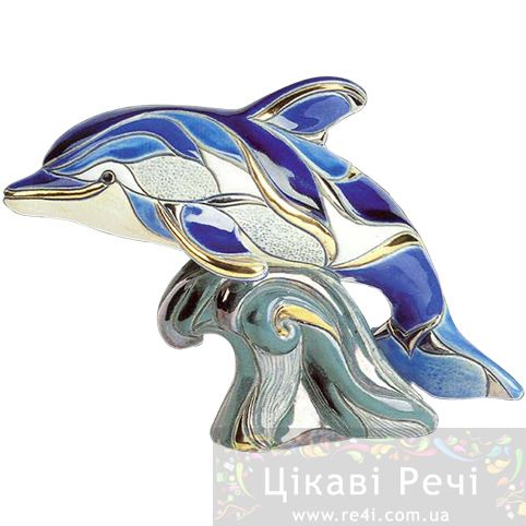 Фигурка De Rosa Rinconada Дельфин на волне (большая), фото