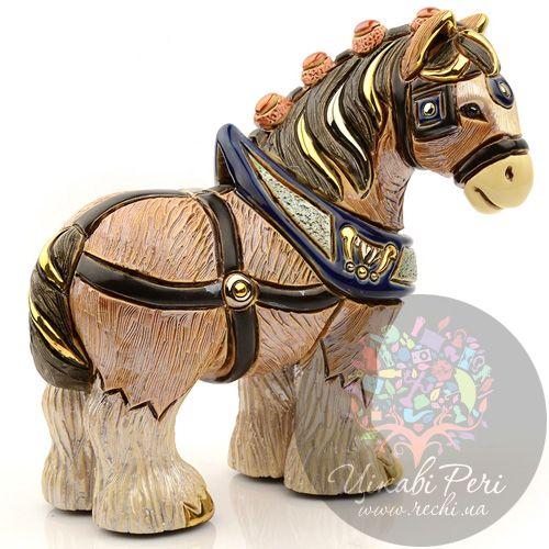 Фигурка De Rosa Rinconada Лошадь Золотая, фото