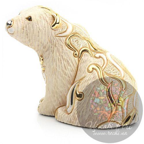 Фигурка De Rosa Rinconada Белый мишка, фото