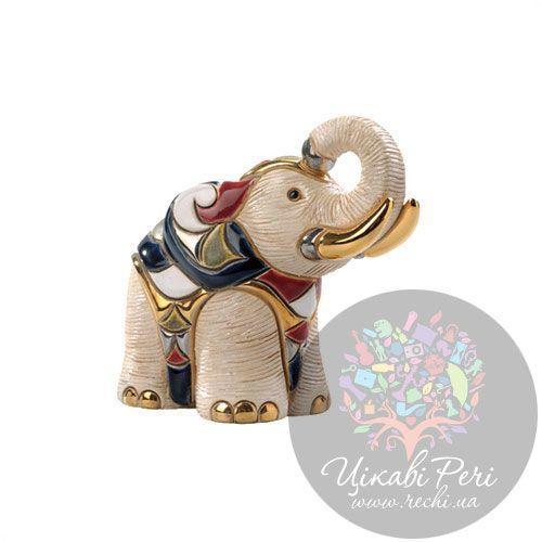Фигурка De Rosa Rinconada Слон белый, фото