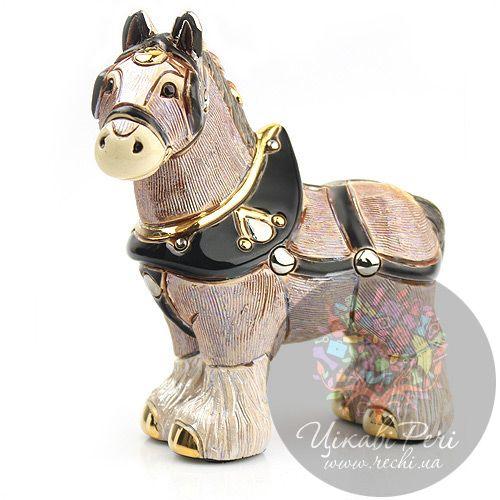 Фигурка De Rosa Rinconada Золотая Лошадь, фото