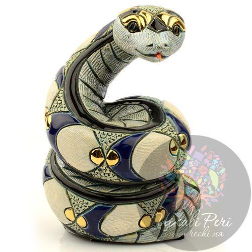 Фигурка De Rosa Rinconada Змея Белая (символ 2013 года), фото