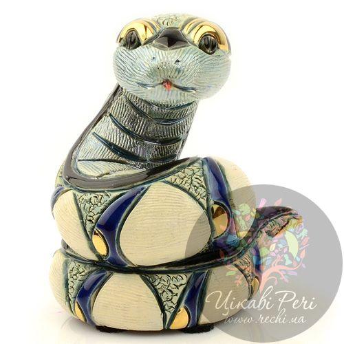 Фигурка De Rosa Rinconada Змейка Белая (символ 2013 года), фото