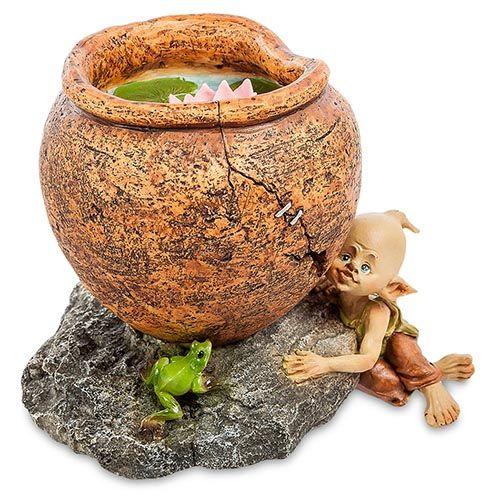 Фигура Pavone ED Гном с лягушкой, фото