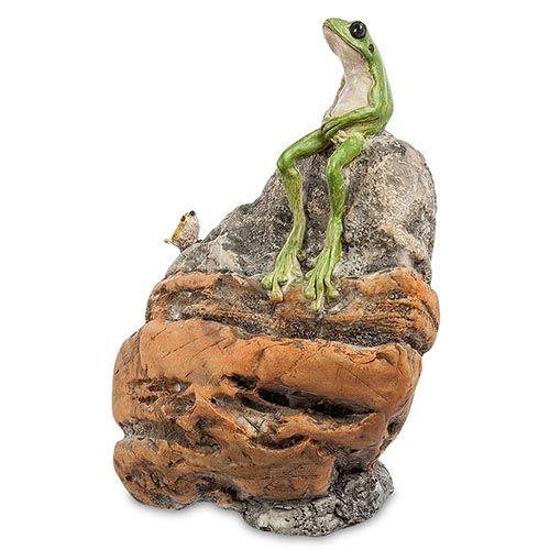 Фигурка Pavone ED Лягушка на камне, фото