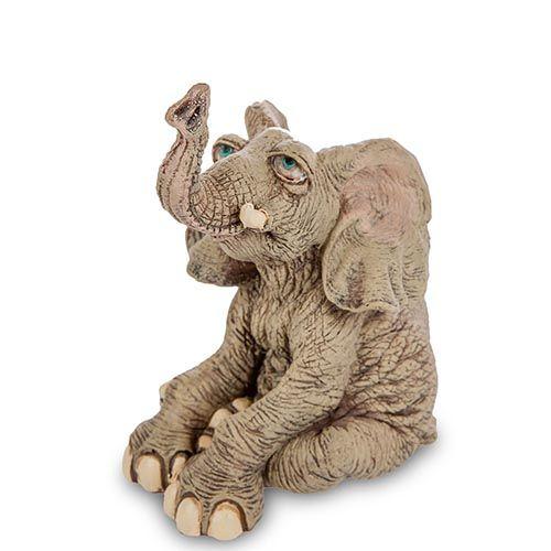 Фигура Sealmark из полистоуна Задумчивый слон, фото