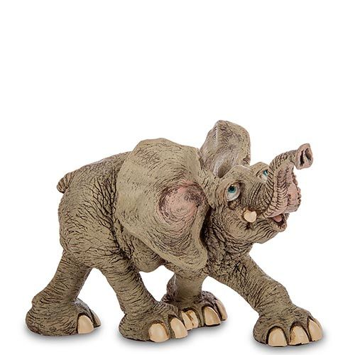 Фигура Sealmark из полистоуна Бегущий слон, фото