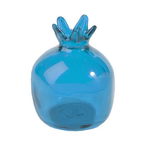 Гранат Emanuel стеклянный голубой, фото