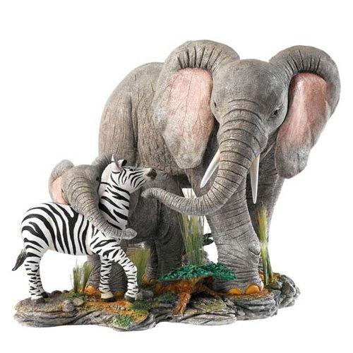 Друзья: слоны и зебра (ограниченный выпуск 750 ед.) Enesco, фото