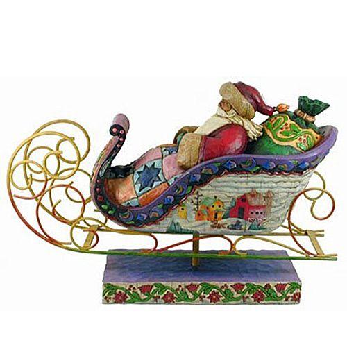 Дед Мороз в санях Enesco, фото