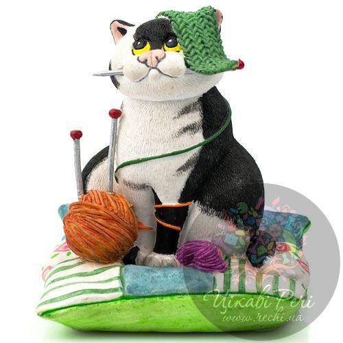 Кошка-мастерица Enesco, фото
