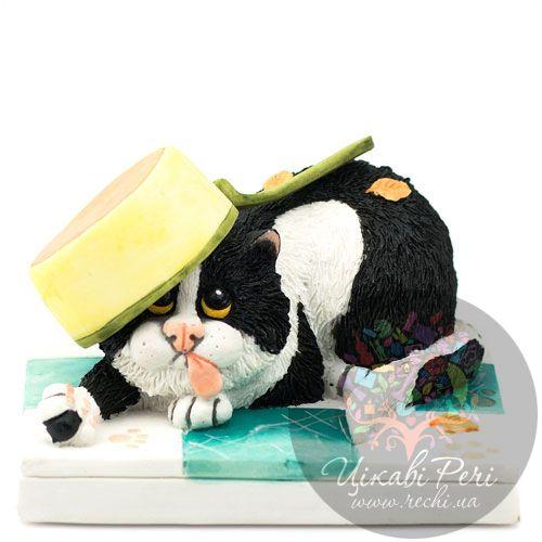 Шкодливый кот Enesco, фото