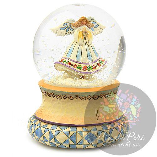 Музыкальный шар с ангелом внутри, фото