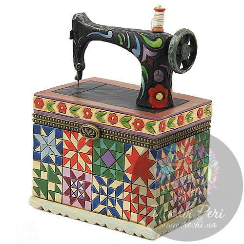 Шкатулочка со швейной машинкой, фото