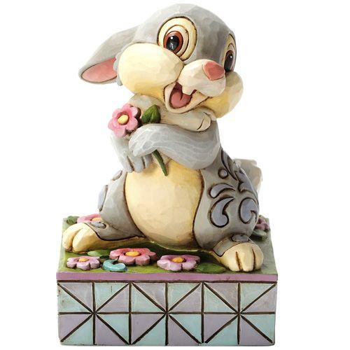 Фигурка Enesco коллекции HeartWood Кролик с цветком, фото