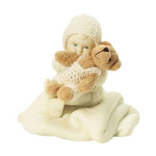 Фигурка Enesco Snowbabies «С медвеженком», фото