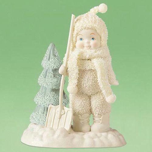 Фигурка Enesco Snowbabies «Мальчик с лопаткой», фото