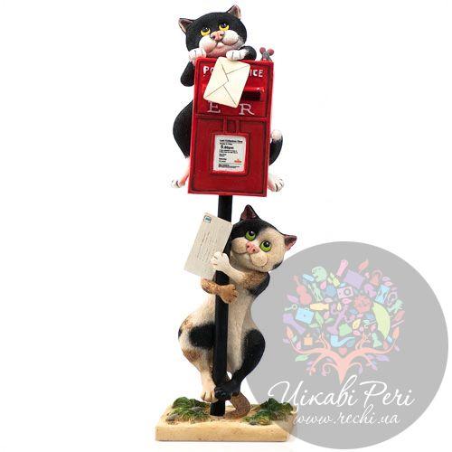 Коты с почтовым ящиком Enesco, фото
