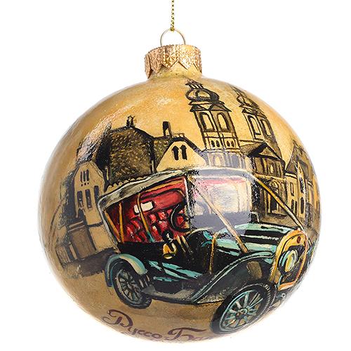 Елочный шар FaVareli Руссо-Балт с ручной росписью, фото