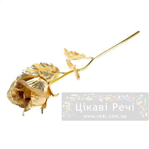Золотая роза Rose бутон, фото