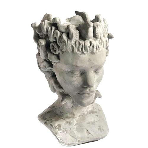 Ваза-органайзер Vase Head Горгона многофункциональная, фото