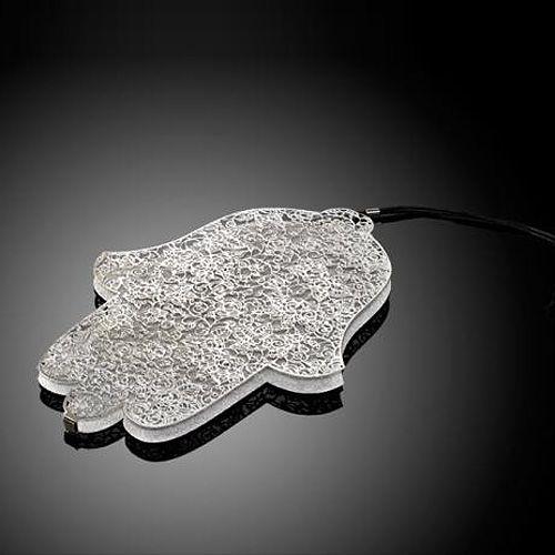 Хамса-оберег Metalace с ажуром Sleeping Beauty, фото