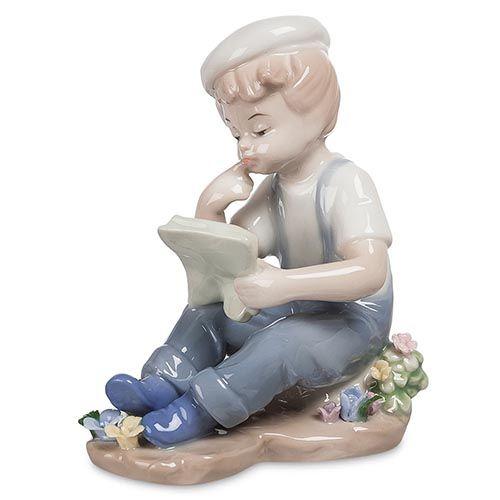 Фарфоровая статуэтка Pavone JP Мальчик, фото