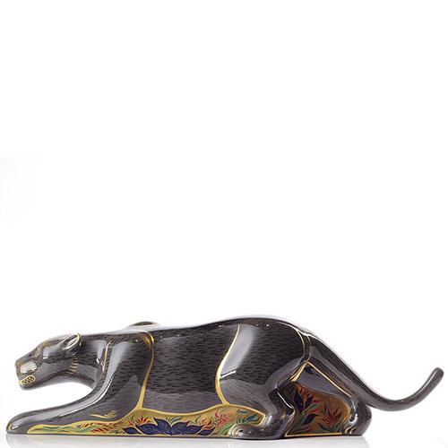 Фарфоровая фигурка Royal Crown Derby Пантера, фото