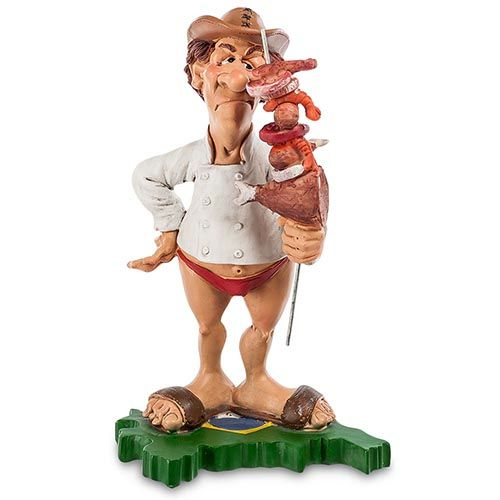 Фигурка Comical World of Stratford Шеф-повар из Бразилии, фото