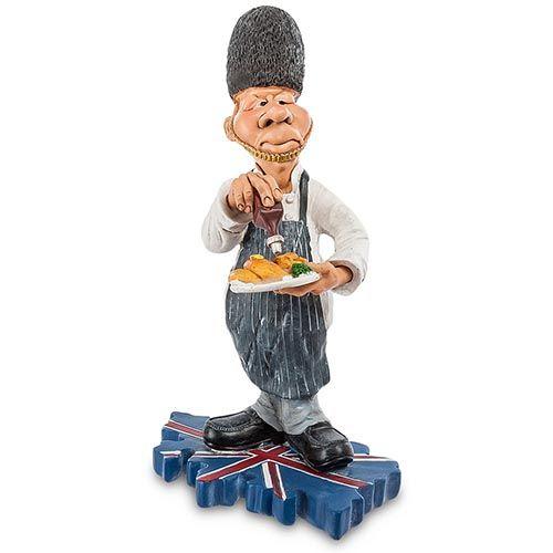 Фигурка Comical World of Stratford Шеф-повар из Англии, фото