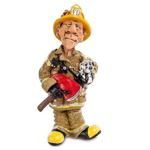 Фигурка из полистоуна Comical World of Stratford Пожарный, фото