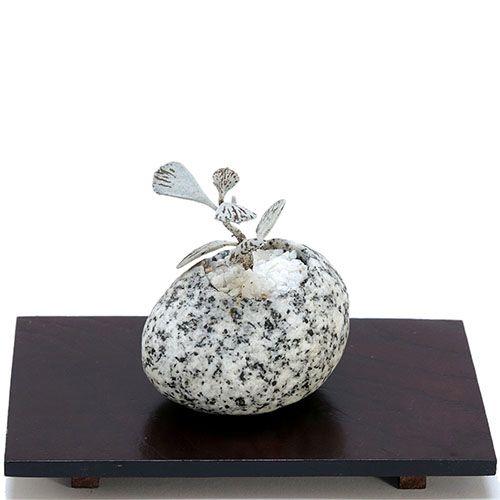 Композиция из натурального камня и суккулента IKIGAI Angel Collection sa-2 маленькая, фото