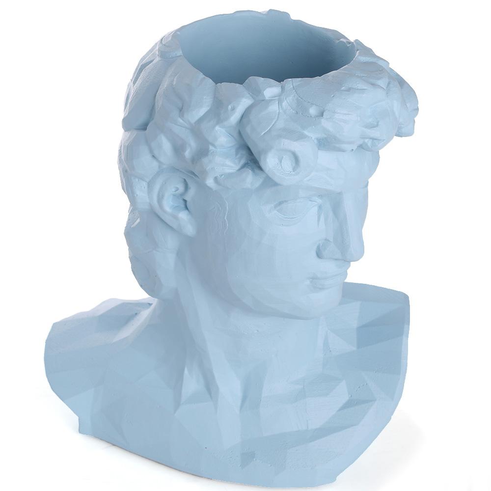 Ваза-органайзер Vase Head Давид многофункциональная